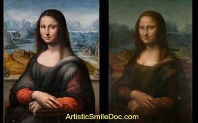 Even the Mona Lisa was transformed with a good cleaning. Your regular dental checkup will keep your smile sparkling!