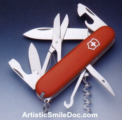 Do you use your teeth like a swiss army knife?
