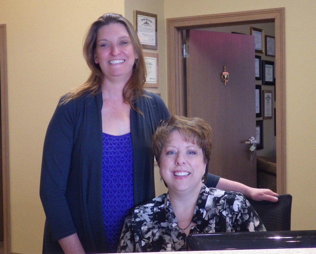 Christine or Cynthia are here to smooth the way for your dental care.